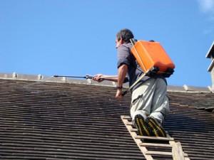 traitement hydrofuge de toiture Chauray